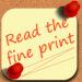 I Hate Fine Print