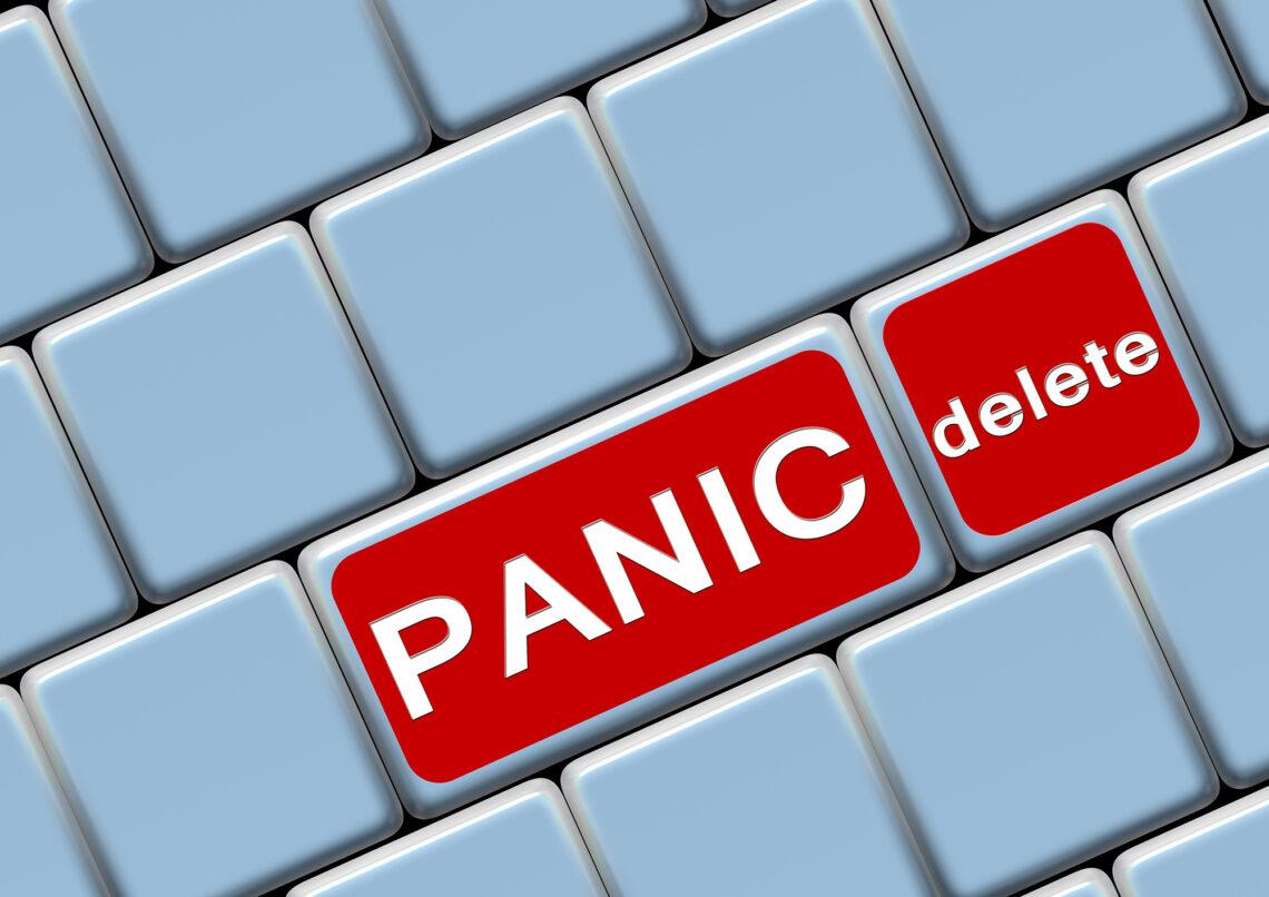 Paranoia Panic Self Talk Persistence