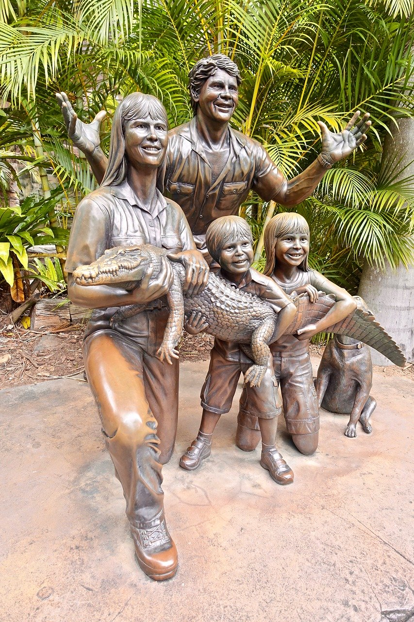 Irwin Family Statue