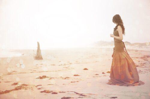 Woman Mirage