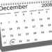 Calendar 28th December 2008